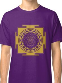 Sri Yantra Mandala Classic T-Shirt