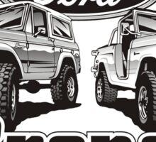 Bronco II Sticker