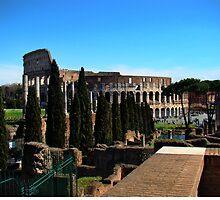 Roman Colosseum V by Al Bourassa