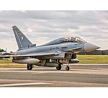 Eurofighter EF.2000GT Taifun 30+04 Photographic Print