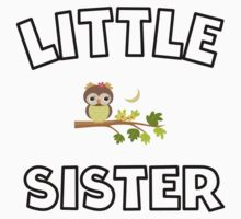 Owl Little Sister Kids Clothes