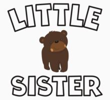 Bear Little Sister Baby Tee