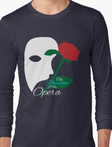 The Phantom and Rose Long Sleeve T-Shirt