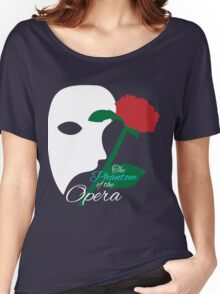 The Phantom and Rose Women's Relaxed Fit T-Shirt