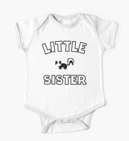 Skunk Little Sister One Piece - Short Sleeve
