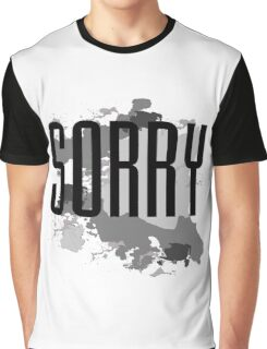 Sorry - Justin Bieber Graphic T-Shirt