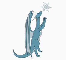 Snowflake Dragon Kids Tee