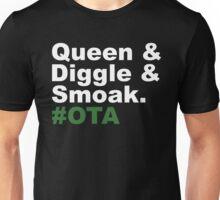 Queen & Diggle & Smoak #OTA Unisex T-Shirt