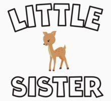 Deer Little Sister One Piece - Short Sleeve