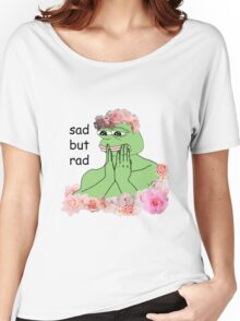 pastel pepe Women's Relaxed Fit T-Shirt