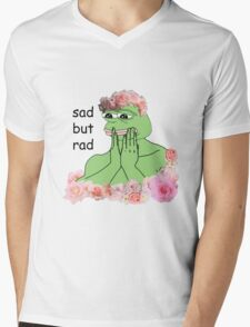 pastel pepe Mens V-Neck T-Shirt
