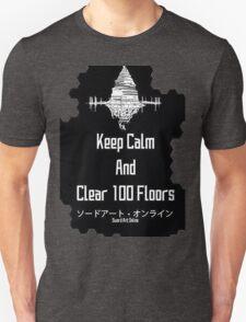 Sword Art Online 100 Floors Unisex T-Shirt
