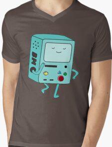 BMO Adventure Time Mens V-Neck T-Shirt