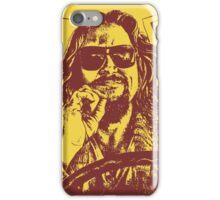 Big Lebowski Yellow 1 iPhone Case/Skin