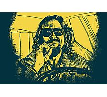 Big Lebowski Yellow 1 Photographic Print