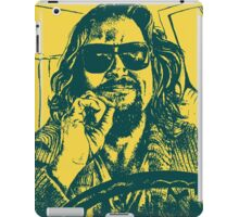 Big Lebowski Yellow 1 iPad Case/Skin