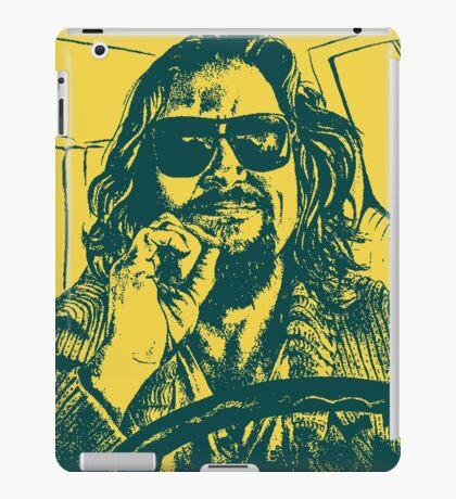 Big Lebowski Yellow 1 iPad Case/Skin