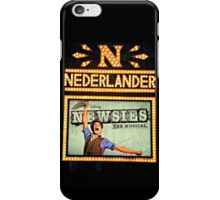 The Newsies Broadway Marquee iPhone Case/Skin