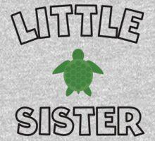 Sea Turtle Little Sister One Piece - Short Sleeve