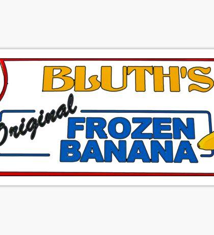 bluth's original frozen bananas Sticker