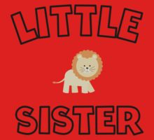 Lion Little Sister One Piece - Short Sleeve