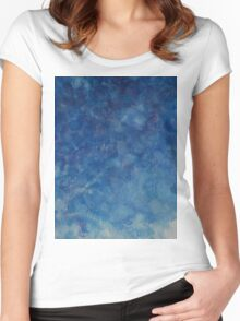 BLUES Women's Fitted Scoop T-Shirt