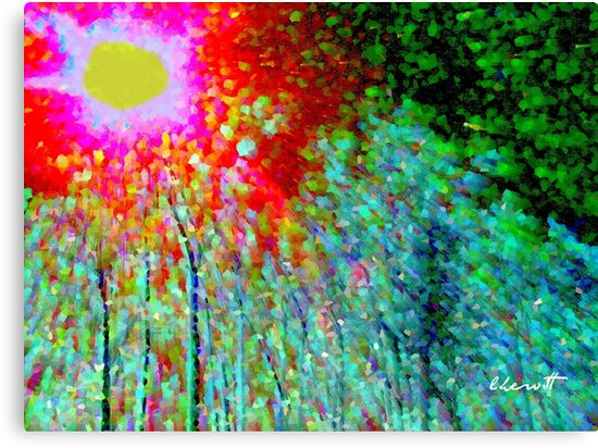 Landscape on Acid by Lisa Taylor