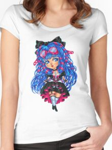 CyberGoth Chibi Women's Fitted Scoop T-Shirt
