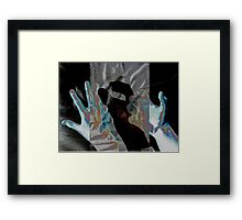 The X-Ray has gone wrong. Framed Print