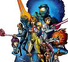 starwars video game mashup by EvilMonkey793