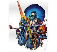 starwars video game mashup Poster