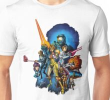 starwars video game mashup Unisex T-Shirt