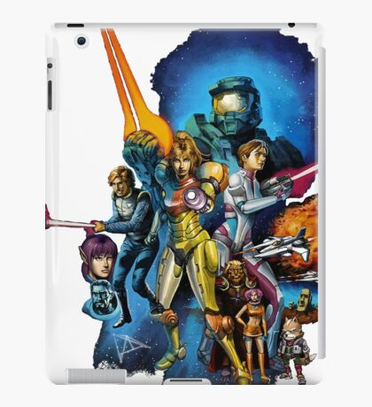 starwars video game mashup iPad Case/Skin