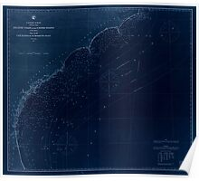 Civil War Maps 0067 Atlantic coast of the United States in four sheets sheet no III Cape Hatteras to Mosquito Inlet Inverted Poster