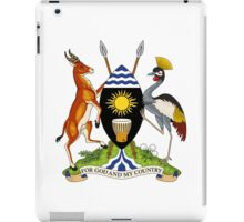 Coat of Arms of Uganda iPad Case/Skin