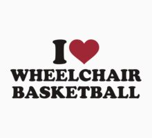 I love wheelchair basketball by Designzz