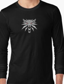 The Witcher 3 Red Eyed Wolf Long Sleeve T-Shirt