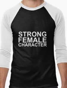 Strong Female Character Men's Baseball ¾ T-Shirt