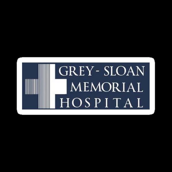 Quot Grey Sloan Memorial Hospital Quot Stickers By Lyndsey Kleiman