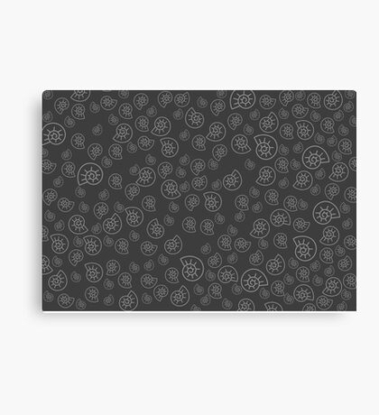 Fossile Pattern Canvas Print