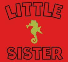 Seahorse Little Sister Kids Tee