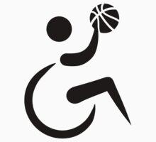 Wheelchair basketball Baby Tee