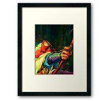 Ashitaka - Princess Mononoke Framed Print