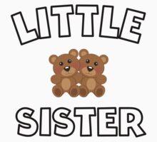 Teddy Bears Little Sister Baby Tee