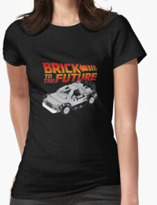 Brick To The Future Womens Fitted T-Shirt