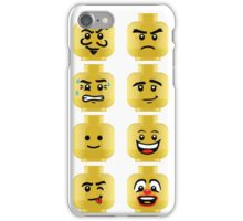 Toy Block Emoji Games Isometric iPhone Case/Skin
