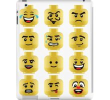 Toy Block Emoji Games Isometric iPad Case/Skin