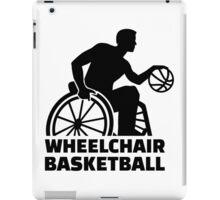 Wheelchair basketball iPad Case/Skin