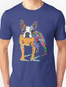 Boston Terrier Graffiti T-Shirt