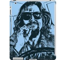 Big Lebowski Blue 1 iPad Case/Skin